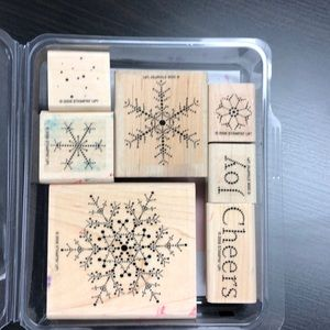 "Stampin' Up! ""The Snowflake Spot"" Stamp Set"